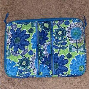 Vera Bradley Laptop Case (larger size)(never used)